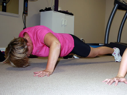 Personal Training Gallery - Push Up